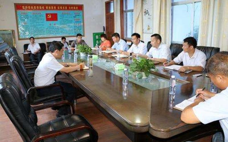 市领导访问江苏海信雷火电竞官网地址生产基地